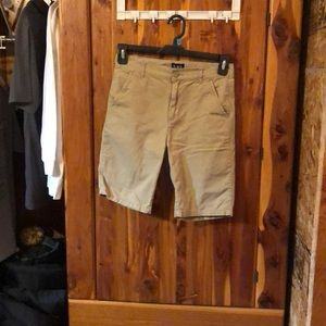 Boys children's place khaki shorts